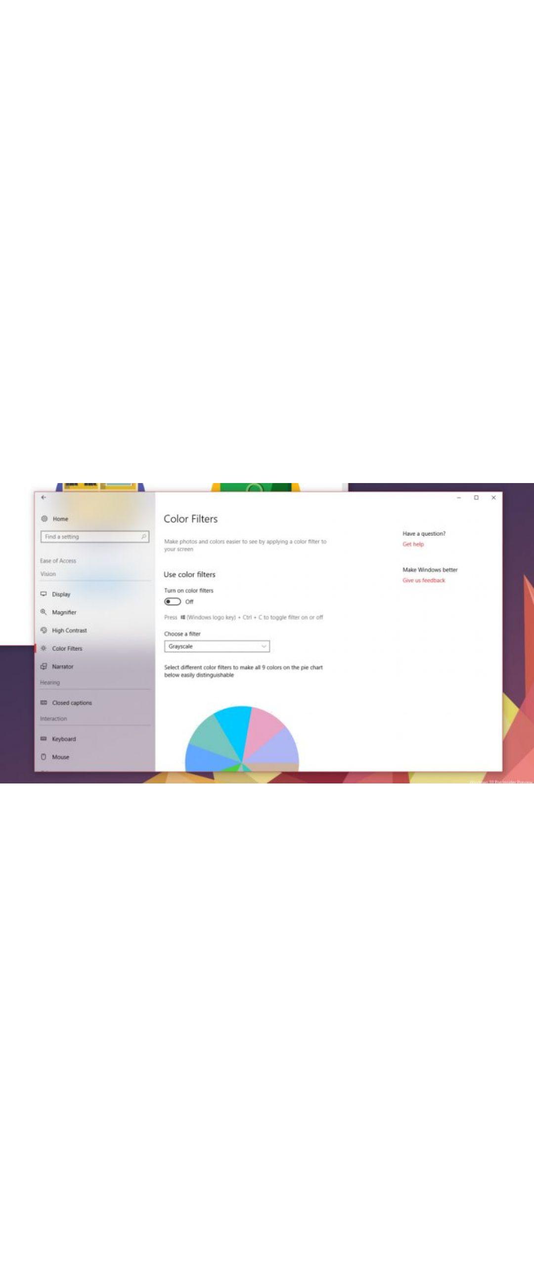 Fluent Design también llegará a la configuración de Windows 10