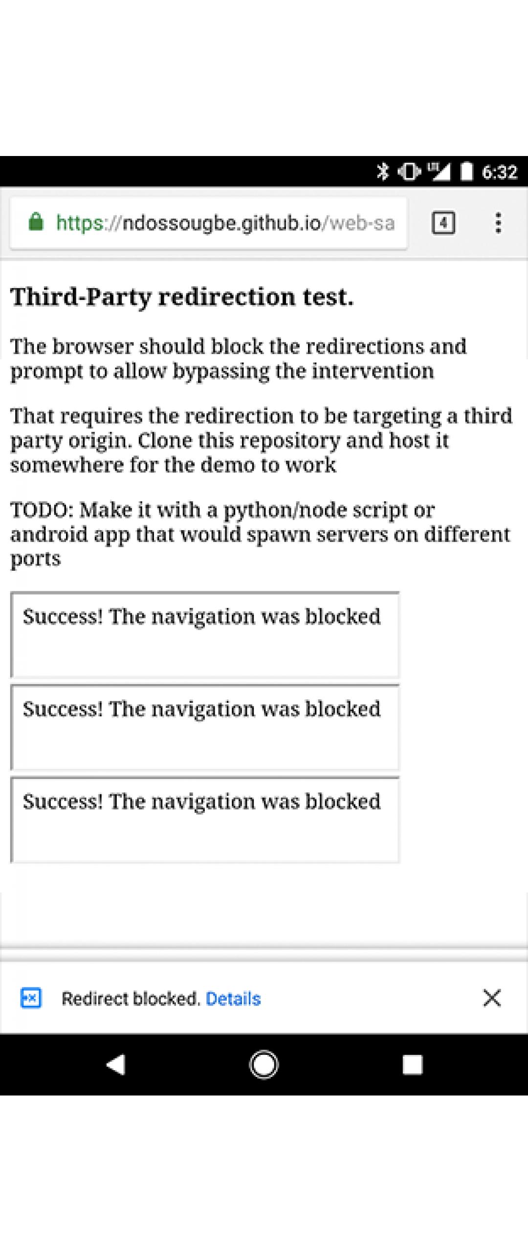 Google Chrome bloqueará las redirecciones maliciosas
