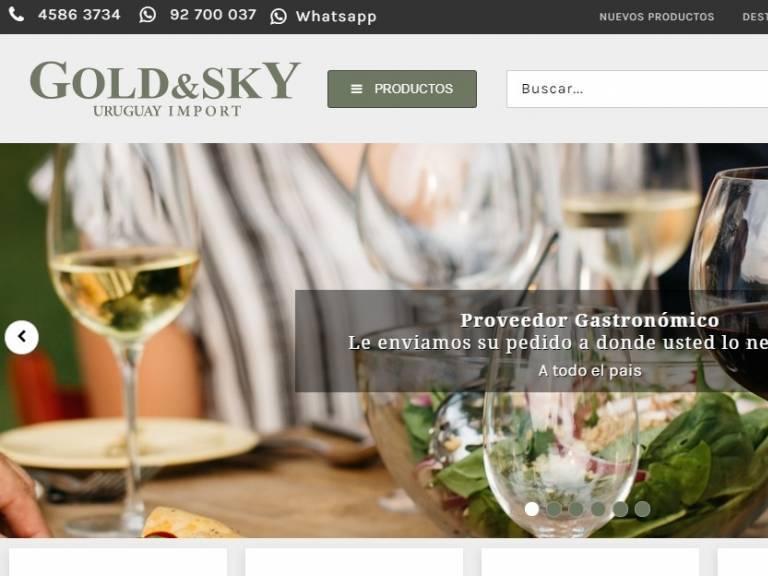 Productos para el sector Hotelero Gastronómico - Gold & Sky